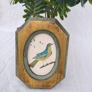 Vintage bird wall art